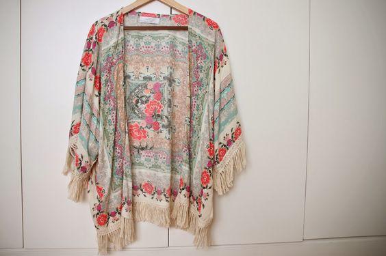 kimono com franjas - Pesquisa Google