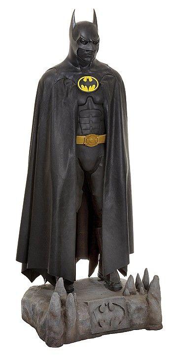 """Michael Keaton screen-used """"Batman"""" suit from Batman Returns."""