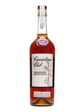 Canadian Club Sherry Cask - A special edition CC, made in very small quantities from the finest whiskies aged at least eight years in white oak barrels, then double matured in sherry casks imported from Jerez in Spain. £37.95