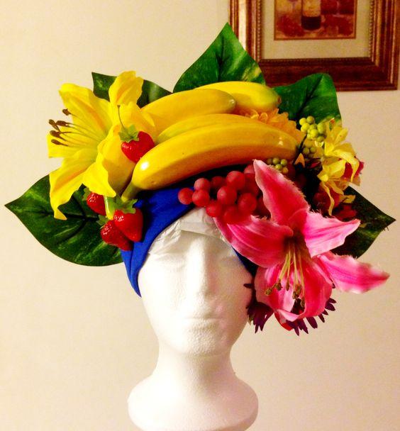 Carmen Miranda Chiquita Banana Headdress My Costume