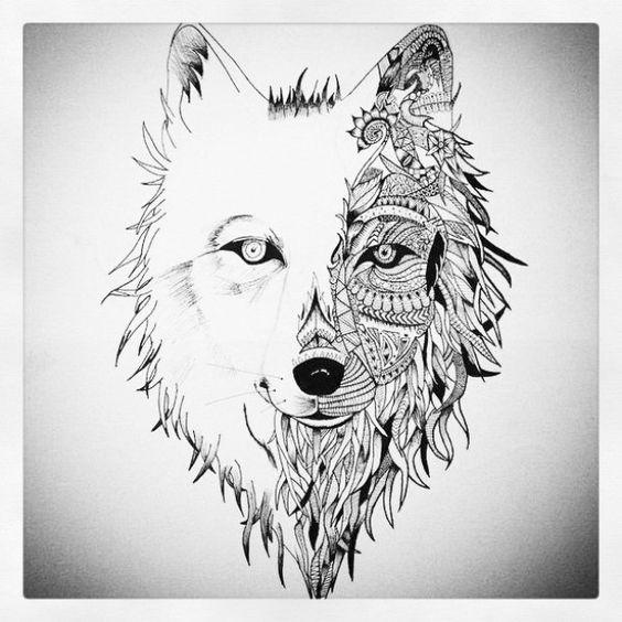Projet futur #tattoo #tatouage #tatouagebras #tatouageloup #loup #Wolf #Meute #dessi...   Use Instagram online! Websta is the Best Instagram Web Viewer!