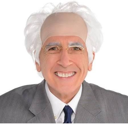 Balding Wig With Hair On The Sides Bald Cap Men S Wigs Men With Grey Hair