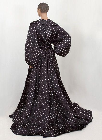 Designer Clothing at Vintage Textile: #1212 Dior evening coat