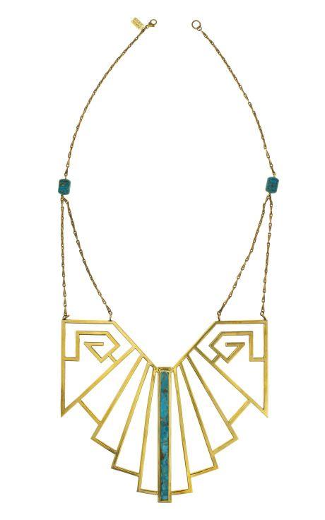 Pamela Love, wrought iron breastplate. $1525 at Moda Operandi. #pamelalove #jewelry #necklaces