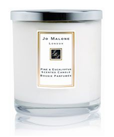 This one is divine and perfect for the holidays - Jo Malone Pine & Eucalytpus Luxury Candle
