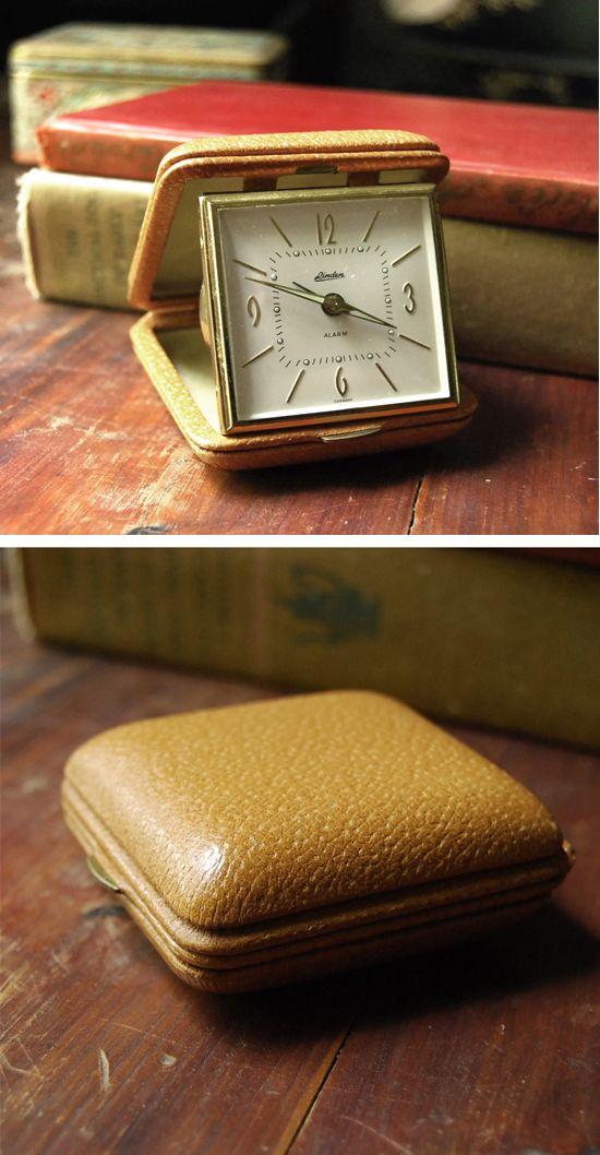 Vintage Linden Travel Clock