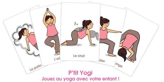 Jouez au yoga avec votre enfant
