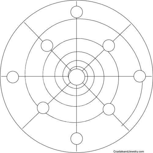 image regarding Printable Crystal Grid identify Picture consequence for printable crystal grid templates crystal