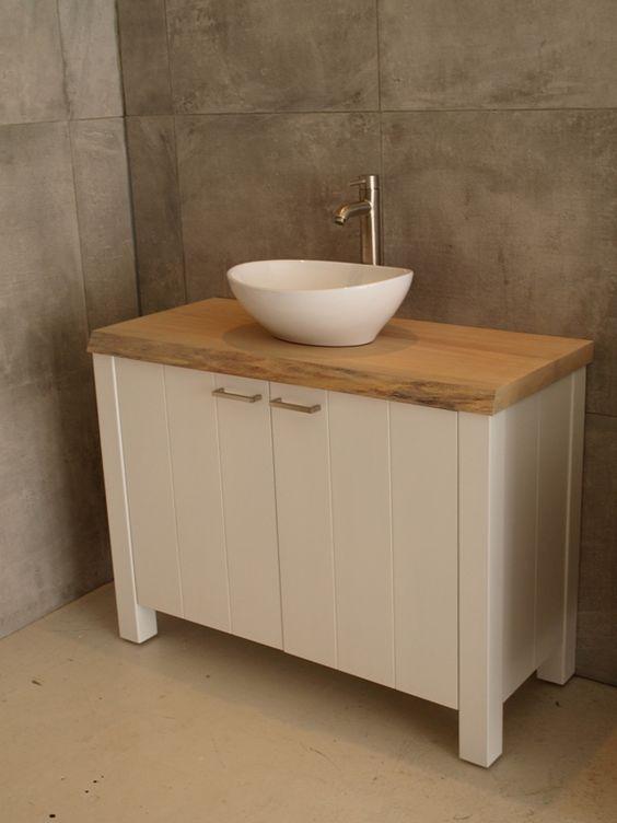 Gietvloeren Voor Badkamer ~ Onze badkamermeubels ademen de sfeer van het landelijke en tijdloze