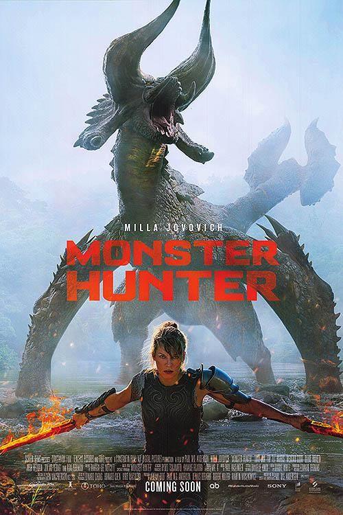 Monster Hunter In 2021 Hunter Movie Monster Hunter Movie Milla Jovovich
