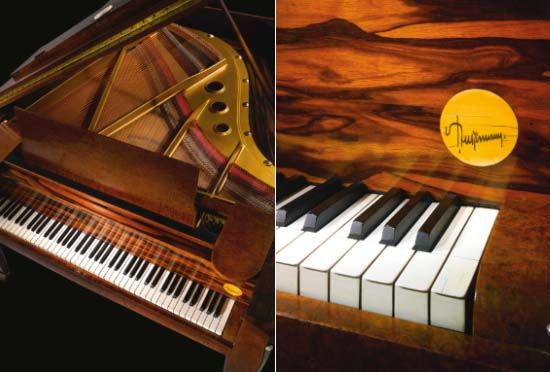 Rare Ruhlman piano that sailed on the SS Normandie.