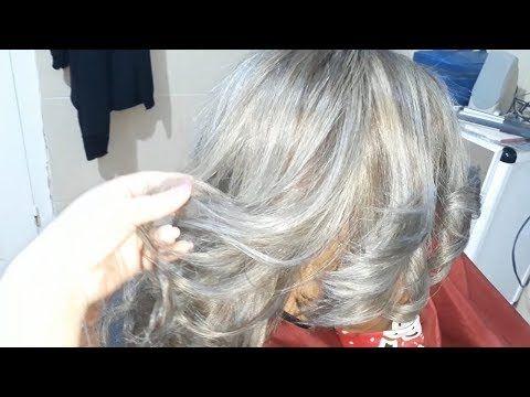 صبغ الشعر أشقر رمادي فاتح روووعة ليماش تفتيح الجذور Youtube Long Hair Styles Hair Hair Styles
