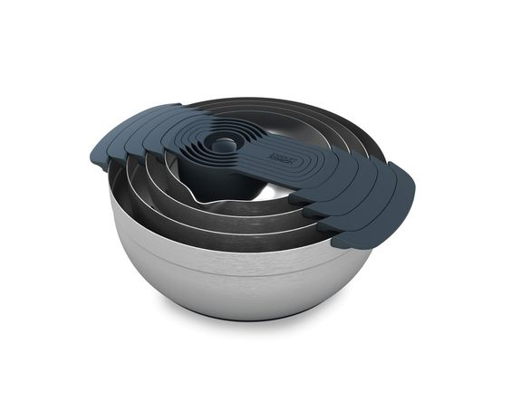 Joseph Joseph Nest™ 100 | 9-piece nesting bowl set