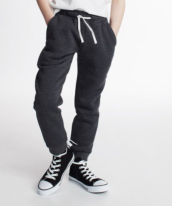 Another great find on #zulily! Dodo Graphite Sweatpants - Kids by Dodo #zulilyfinds