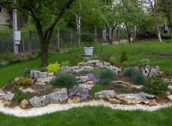 Steingarten Anlegen Erde :  anlegen ziergraeser steingarten anlegen unsere gärten gartenanlage
