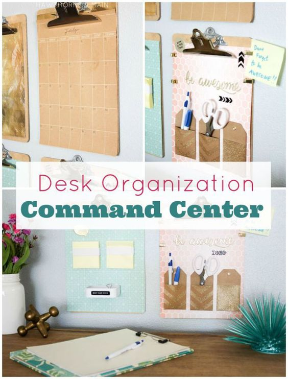 Model Home Office Organizing Tips And DIY Projects  Soap Deli News