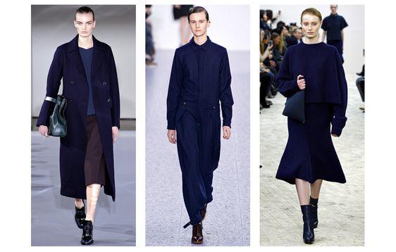 From left to right: Dries Van Noten, Chloé and Céline Also seen at Hermès, Nina Ricci, Calvin Klein, Paul & Joe