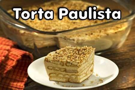 Torta Paulista é uma das sobremesas mais saborosas da culinária moderna. Essa receita de torta paulista é bem fácil e fica uma delícia. Com poucos ingredie