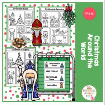 Christmas Around The World Printable Christmas In England Christmas In America Christmas World