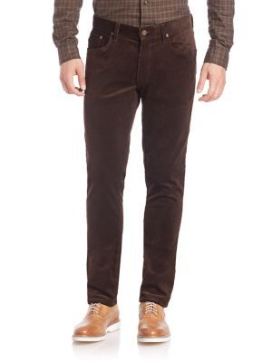 POLO RALPH LAUREN Slim-Fit Corduroy Pants. #poloralphlauren #cloth #pants