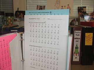 Organizing tips for Rocket Math
