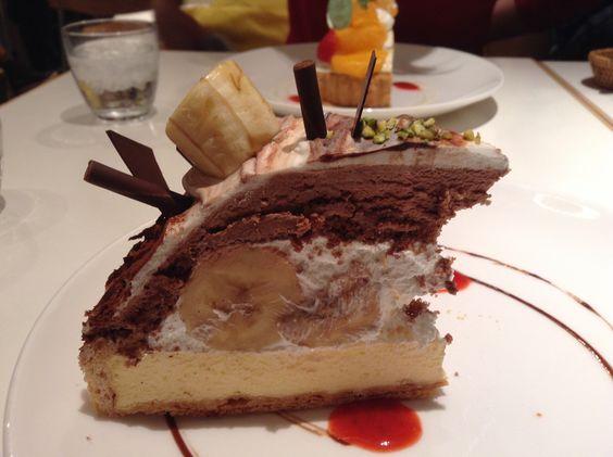 Choco banana cake *_____*