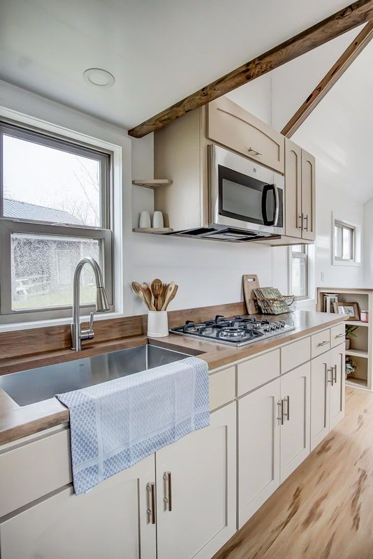 Pearl By Modern Tiny House Kitchen Small House Kitchen Ideas