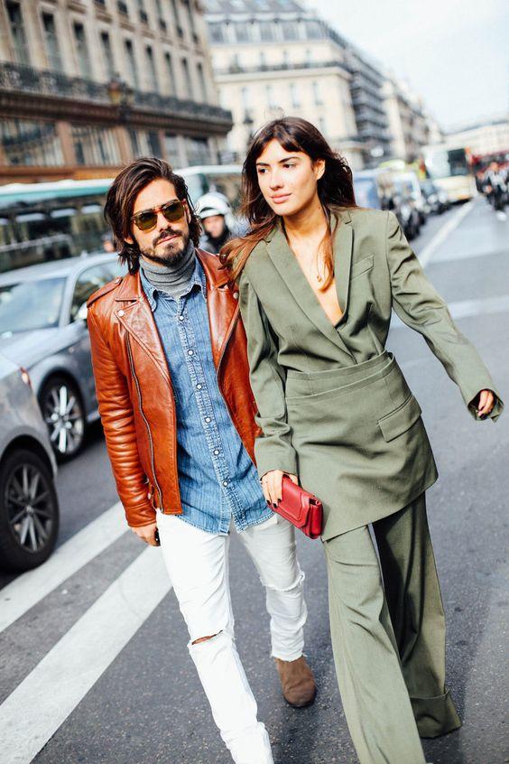 #StreetStyle día 6. Semana de la moda en París. #PFW #ParisFashionWeek foto: @voguespain