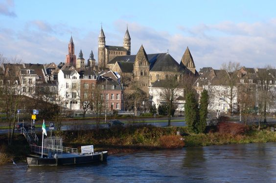 Maastricht, The Netherlands- beautiful town, and a great place to watch Holland knock out Brazil in the 2010 World Cup!