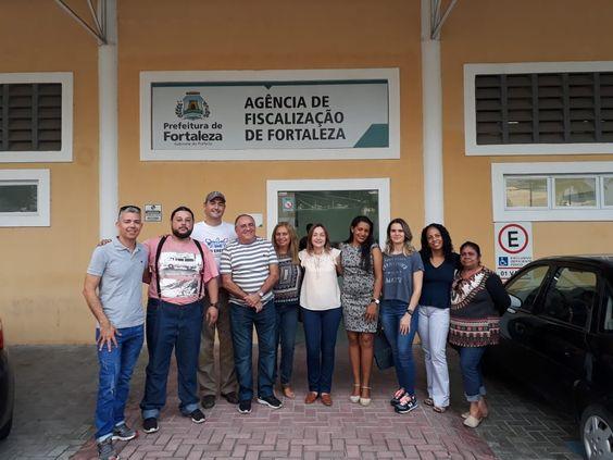 18 e 19/05/18 - Visita na Agefis - II Simpósio da Fiscalização de Fortaleza e I Encontro Estadual dos Fiscais de Atividades Urbanas e Vigilância Sanitária