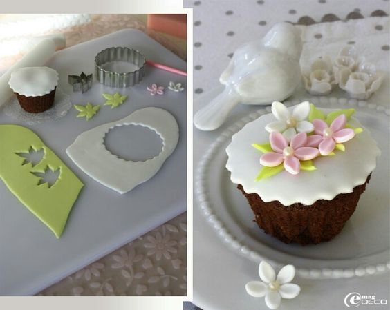Décoration facile cupcake