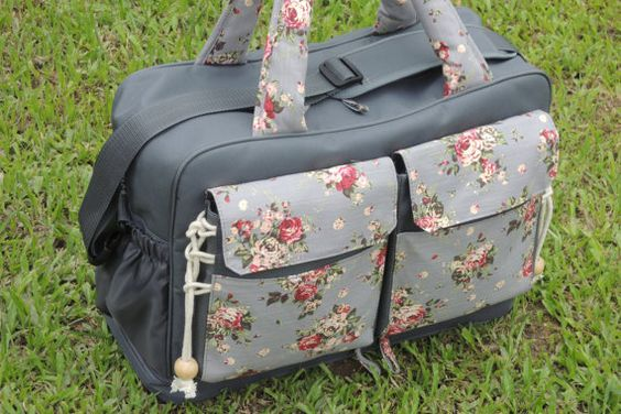 diaper bag great for twins or two little kids by theyellowpacifier kyla pinterest. Black Bedroom Furniture Sets. Home Design Ideas