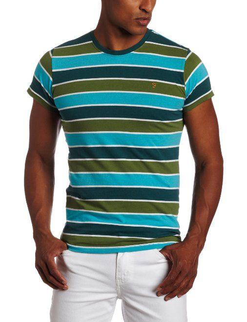 Amazon.com: Farah Men's The Walter Crew Neck T-Shirt: Clothing