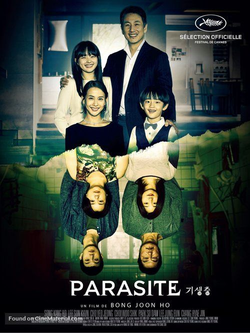 Image result for parasite poster