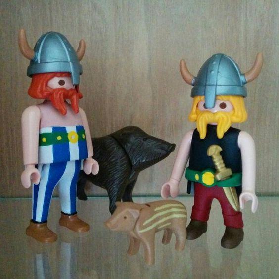 Custom Playmobil Asterix amp Obelix Lego