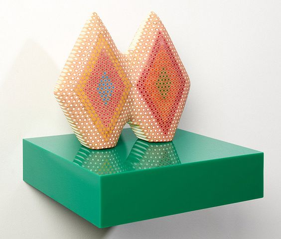 (BAD) Blog About Design: Colored Pencil Sculptures