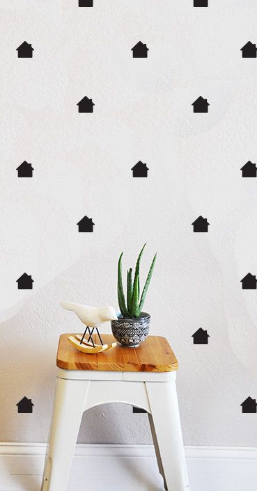 Tiny Houses - WALL DECAL