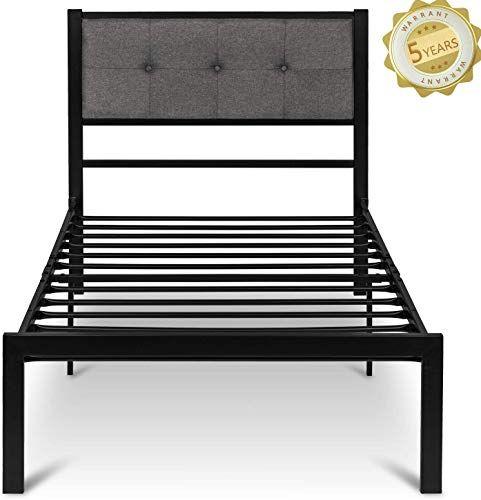 Enjoy Exclusive For Twin Size Upholstered Bed Frame Platform Bed