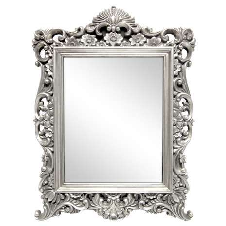 Silver Ornate Framed Mirror Dunelm Mirrors Pinterest