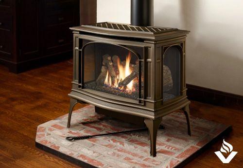 Lopi Greenfield Free Standing Fireplace Vancouver Gas Fireplaces Gas Fireplace Fireplace Style Standing Fireplace