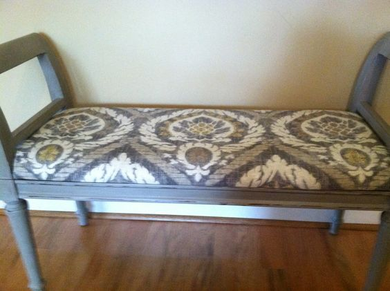 Annie Sloan French linen with ikat print