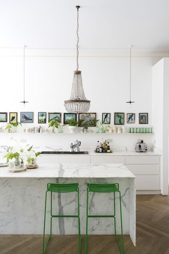 More Art and Greenery in an Updated Victorian - Bliss