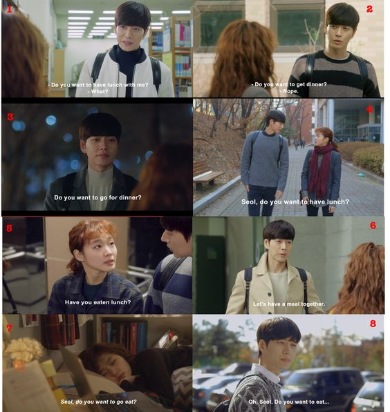 """Seol, want to eat?"" watch Park Hae Jin and Kim Go Eun in Cheese in the Trap now!"