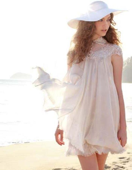 Vestido curtinho solto