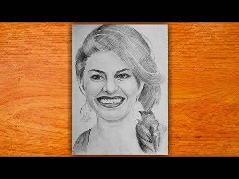 Pencilsketch Pencildrawing How To Draw Hindi Bollywood Movie Super Star Sketch Of Bollywood Mov Pencil Sketch Jacqueline Fernandez Hindi Bollywood Movies