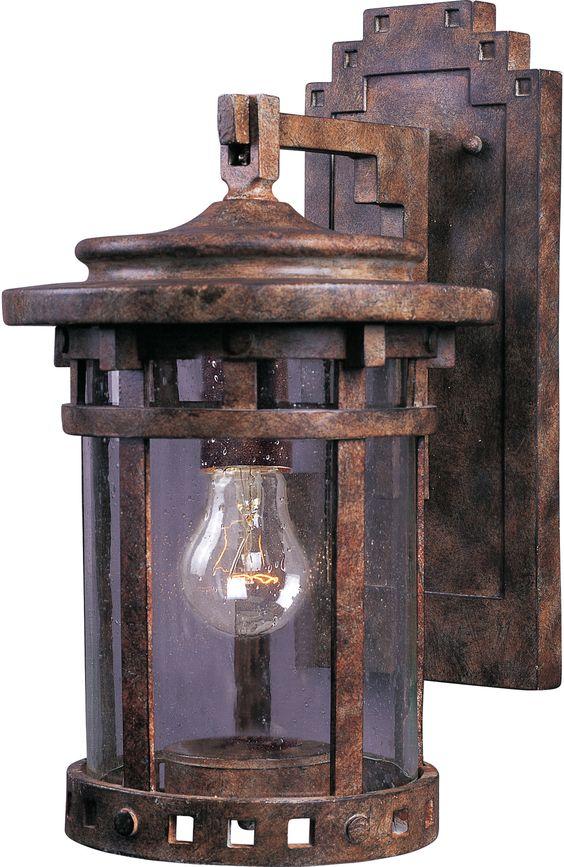 Santa Barbara VX 1 Light Wall Lantern