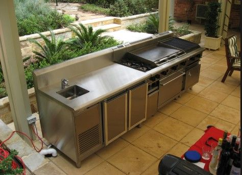 Beautiful Outdoor Bbq Sink