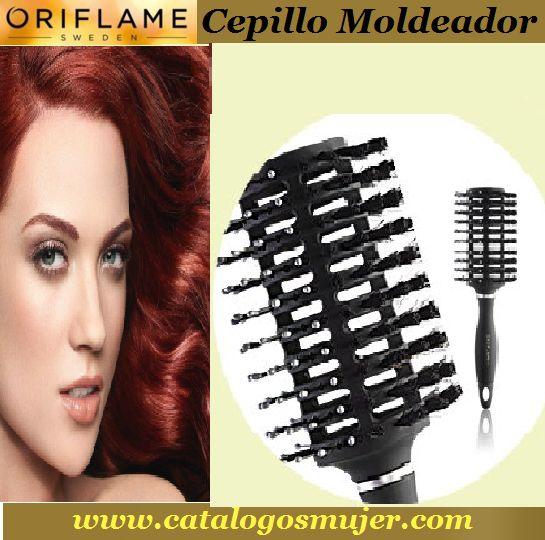 CEPILLO MODELADOR  creado para moldear el cabello y texturizar el peinado al mismo tiempo que facilita el secado favoreciendo la circulación de aire del secador. *70%* Precio Oferta S/. 11.90