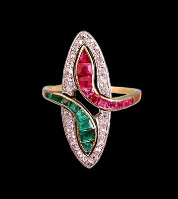 Art Deco joias