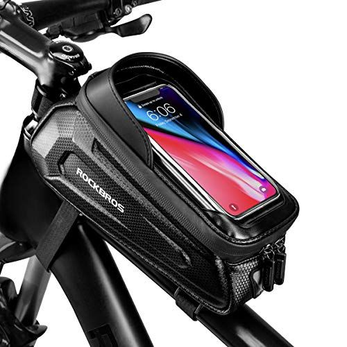 Accessories Bike Front Bag Reflective Waterproof Handlebar Tube Frame Pouch